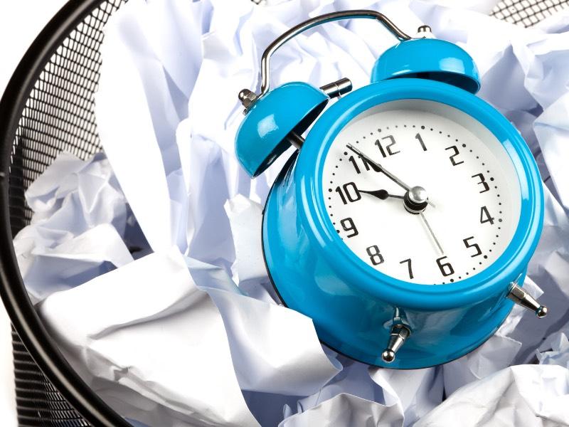 休みが少ないという不満は時間を捨てている証拠